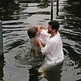 Aaron Baptized in freeeeezing Jordan River!