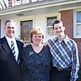 Danny, Susan and Christopher Kagerer